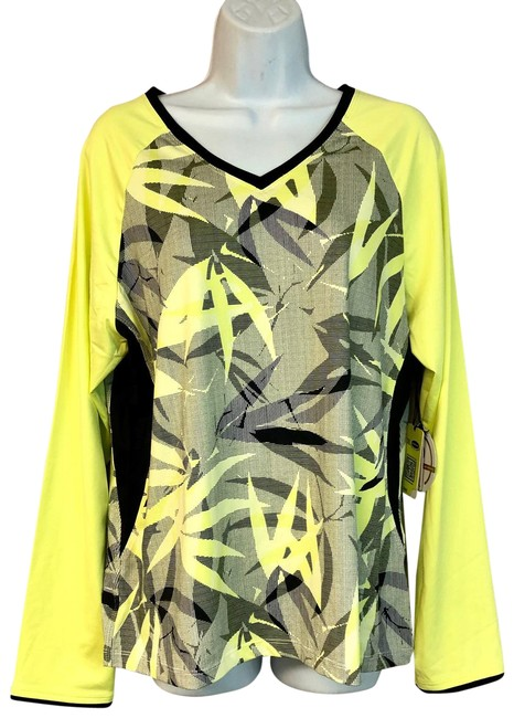 Tail NWT TAIL Intrigue Chartreuse UPF 50 Tennis Top XL Image 0