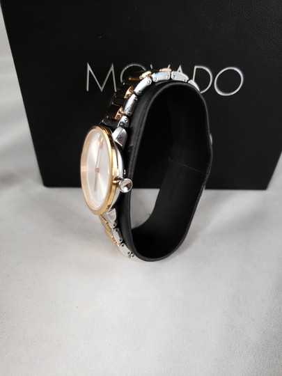 Movado Women's 'Bold' Two Tone Stainless Steel Watch (3600504) Image 1