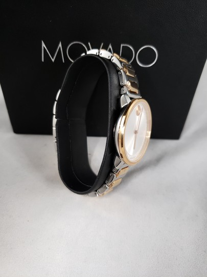 Movado Women's 'Bold' Two Tone Stainless Steel Watch (3600504) Image 3