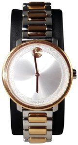 Movado Women's 'Bold' Two Tone Stainless Steel Watch (3600504)