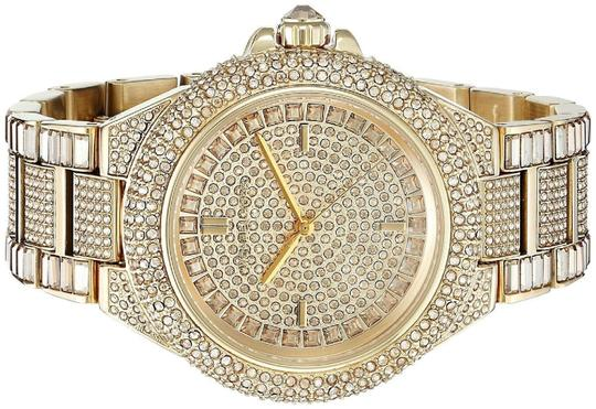 Michael Kors Camille Stainless Pave Crystal Glitz MK5720 Image 5