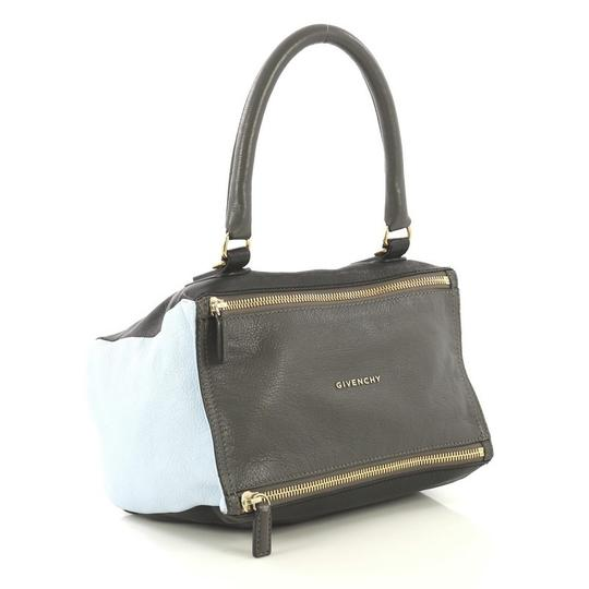 Givenchy Pandora Leather Satchel in blue and gray Image 1