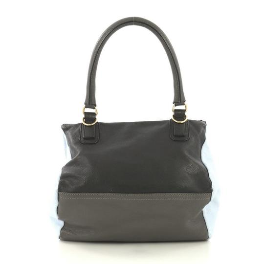 Givenchy Pandora Leather Satchel in blue and gray Image 2