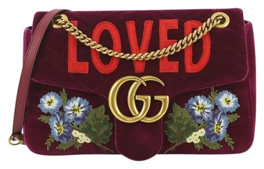 Preload https://img-static.tradesy.com/item/25679938/gucci-chain-flap-marmont-gg-embroidered-matelasse-velvet-medium-purple-shoulder-bag-0-1-540-540.jpg