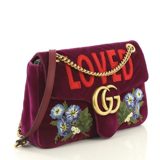 Gucci Matelasse Flap Shoulder Bag Image 1