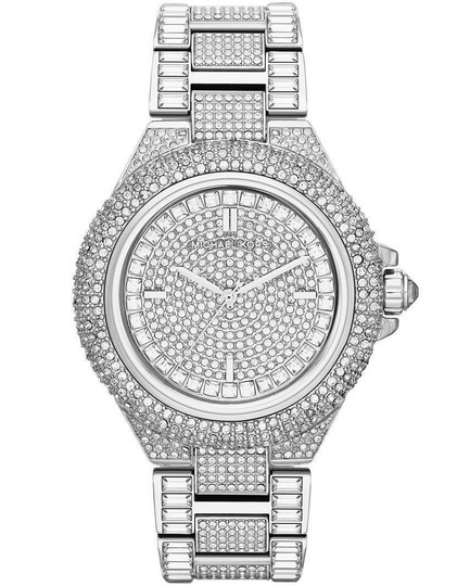 Michael Kors Camille Stainless Pave Crystal Glitz MK5869 Image 4