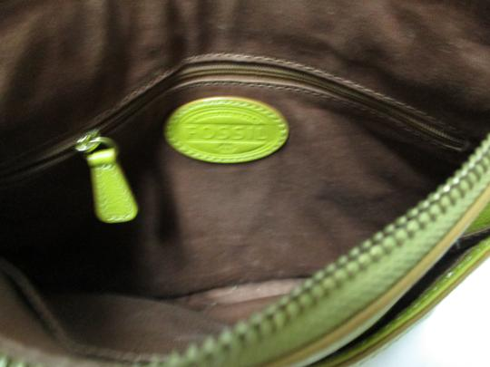 Fossil Leather Purse Cross Body Bag Image 9