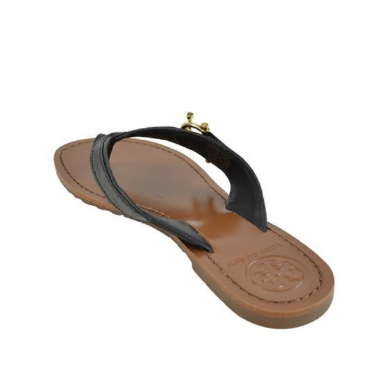 Tory Burch Nora Thong Slip On Black Sandals Image 3