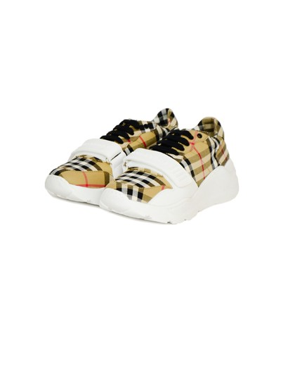Burberry Regis Check Sneakers Low-top Plaid Athletic Image 1