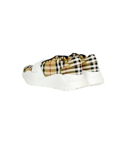 Burberry Regis Check Sneakers Low-top Plaid Athletic Image 2