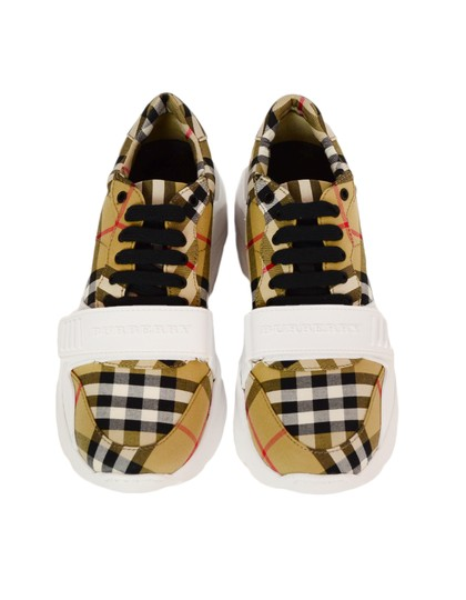 Burberry Regis Check Sneakers Low-top Plaid Athletic Image 3