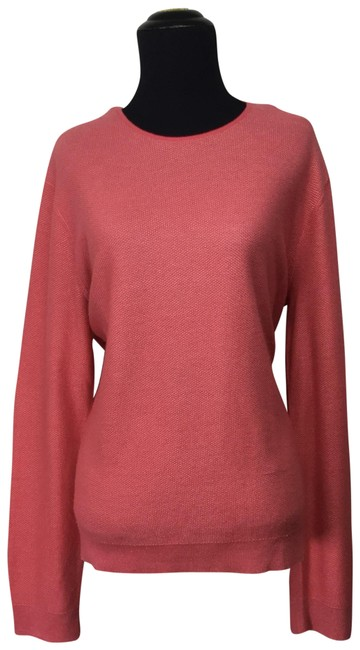Preload https://img-static.tradesy.com/item/25679981/agnona-textured-cashmeresilk-pink-coral-sweater-0-1-650-650.jpg