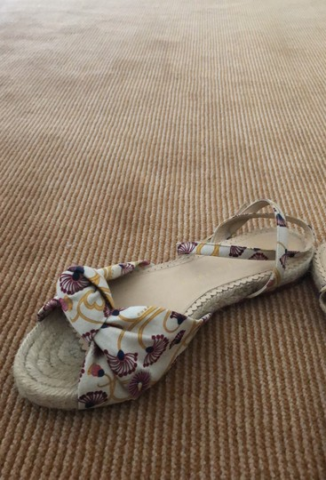 Charlotte Olympia beige purple and yellow Sandals Image 1