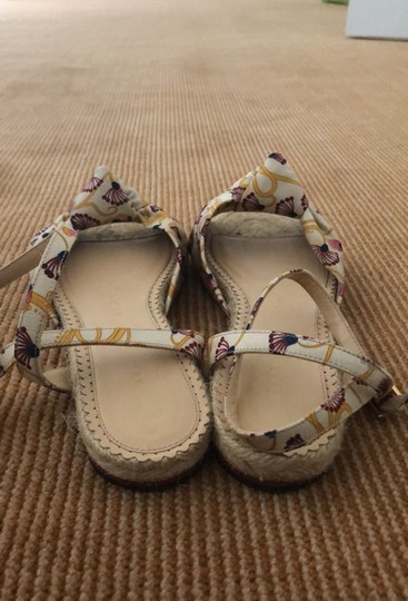 Charlotte Olympia beige purple and yellow Sandals Image 3