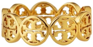 Tory Burch TORY BURCH * Frozen Logo Ring * Gold