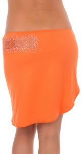 Just Cavalli New Designer Women Beach Self-Tie Pareo Skirt Sarong Cover-Up