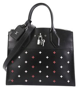 Louis Vuitton Perforated City Steamer Satchel