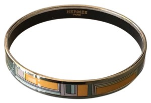 Hermès HERMES Les Voitures a Transformation Candeur Narrow Bangle Bracelet
