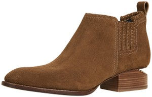 Alexander Wang Cut-out Suede Dark Truffle Boots