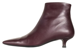 The Row burgundy Boots