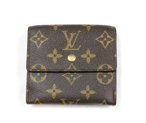 Louis Vuitton LOUIS VUITTON ELISE MONOGRAM CANVAS PORTEFEUILLE TRI-FOLD COMPACT WALL