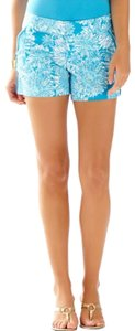 Lilly Pulitzer Dress Shorts Blue/white