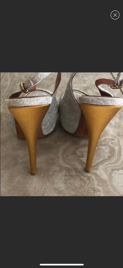 Missoni silver and gold Platforms Image 1
