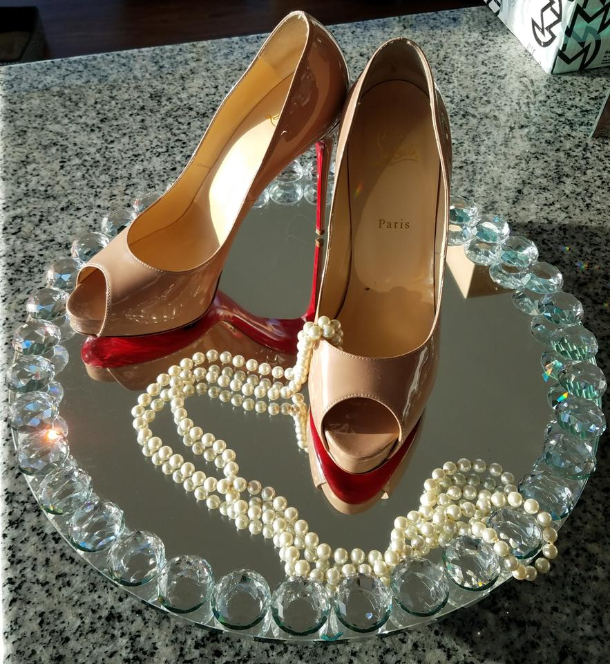 low priced b52bb 06153 Christian Louboutin Nude New Very Prive 120 Mm Pumps Size EU 41 (Approx. US  11) Narrow (Aa, N) 51% off retail