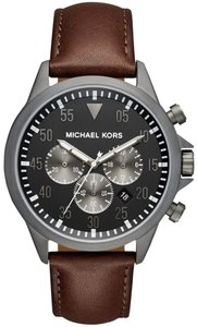 Michael Kors NWT Gage Gunmetal Chronograph Watch Men's Watch MK8536