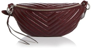 Rebecca Minkoff Edie Quilted Sling Belt red Travel Bag