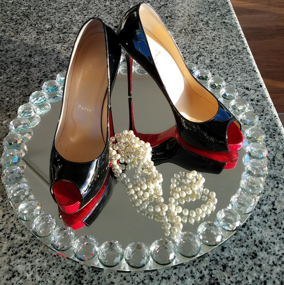 size 40 dccb1 3b405 Christian Louboutin Black New Very Prive 120 Mm Pumps Size EU 41 (Approx.  US 11) Narrow (Aa, N) 46% off retail