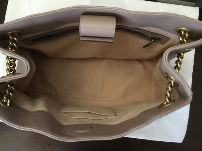 Gucci GG Marmont Small Matelasse Shoulder Bag Nude Pink