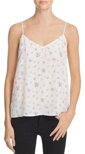 Equipment Silk Floral Revolve Shopbop Top Ivory / Blue / Pink