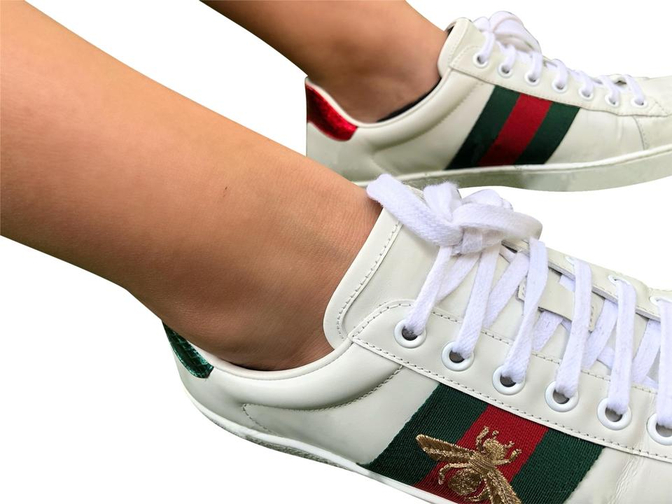 7e11b6bb9 Gucci Ace Embroidered Ace Sneakers Size US 6 Wide (C, D) - Tradesy