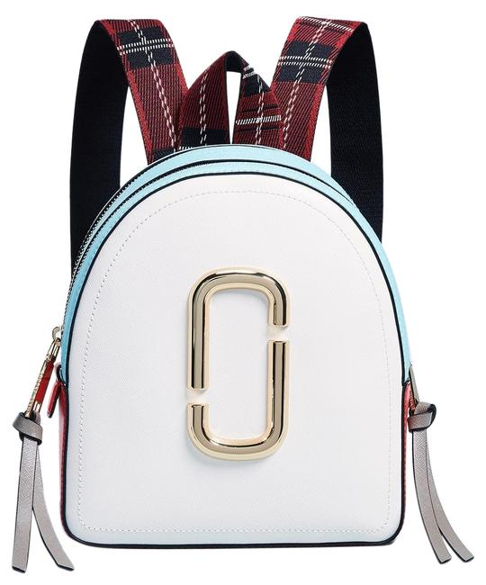 Item - Pack Shot Rugsack White Leather Backpack