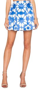 Alice + Olivia Mini Skirt blue