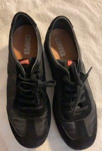 Camper black suede and nylon Athletic