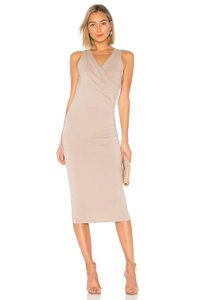 Nude Maxi Dress by Michael Stars
