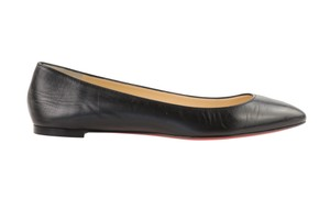 Christian Louboutin Leather Black Flats