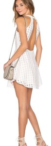 Lovers + Friends Revolve Shopbop Halter Fit And Flare Dress