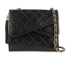 Chanel Crossbody Lambskin Shoulder Bag