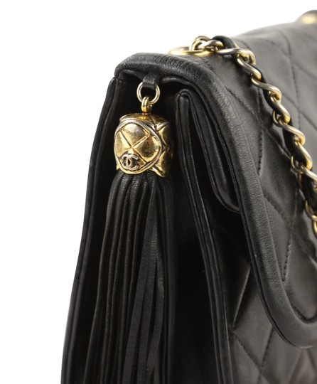 Chanel Crossbody Lambskin Shoulder Bag Image 6