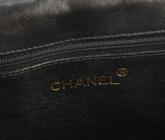 Chanel Crossbody Lambskin Shoulder Bag Image 9
