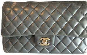 Chanel Quilted Lambskin Dust Shoulder Bag
