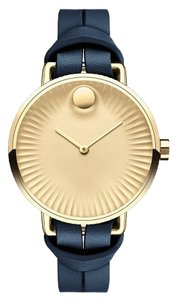 Movado Movado Women's Edge Gold Dial Watch 3680036
