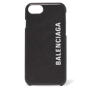 Balenciaga logo printed leather iPhone 7 iPhone 8 case cover
