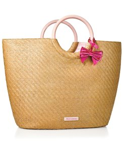 Juicy Couture Coach Duffle 5404 Leather Luggage pink Beach Bag