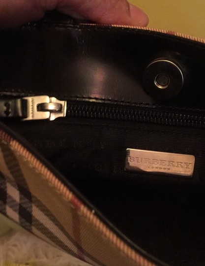 Burberry Tote in black leather Image 5