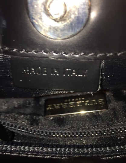 Burberry Tote in black leather Image 7