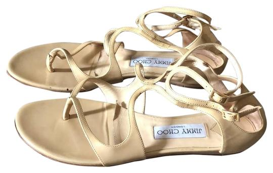 Jimmy Choo Tan Sandals Image 0